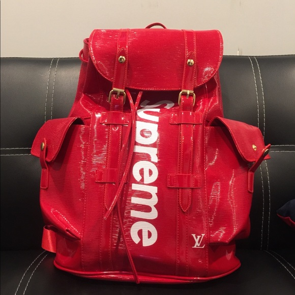Louis Vuitton Handbags Supreme Backpack